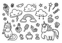 Desenhos Para Colorir Kawaii Morning Kids