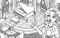 Coloring page Matchington Mansion