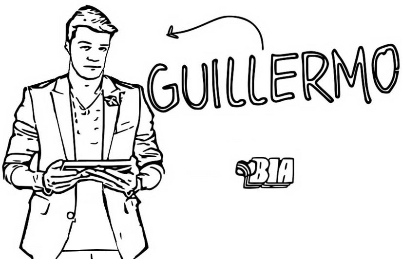 Dibujo Para Colorear Bia Guillermo 10