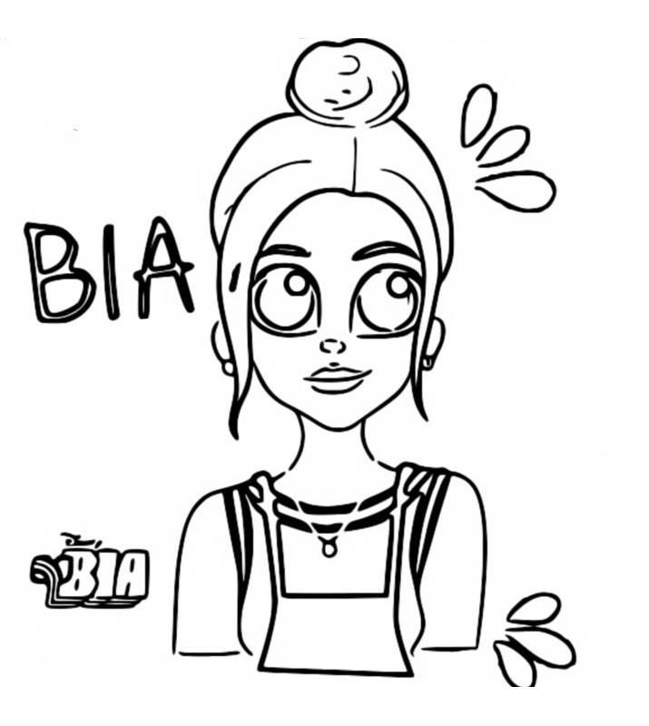 Dibujo Para Colorear Bia Bia 5