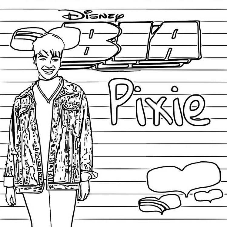 Dibujo Para Colorear Bia Pixie 7