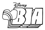 Coloring page Bia Disney