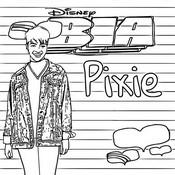 Malvorlagen Pixie