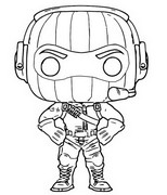 Dibujos Para Colorear Funko Pop Fortnite Morning Kids