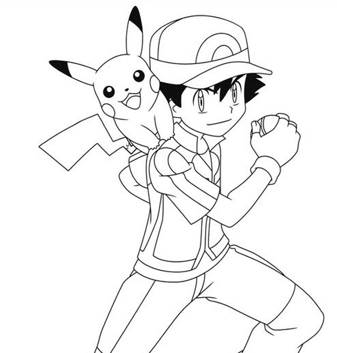 Pokemon Coloring Pages Printable Games 2