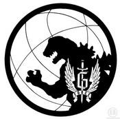 Fargelegging Tegninger Godzilla logo