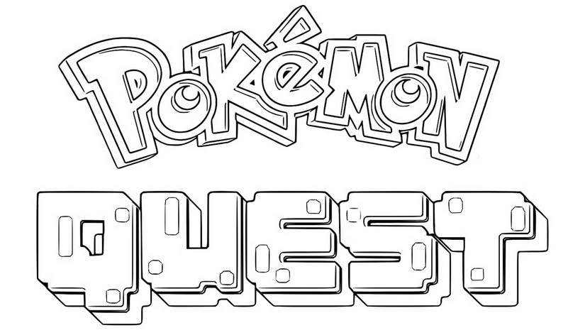 Desenho Para Colorir Jogos Pokemon No Celular 1