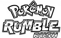 Kleurplaat Pokémon Rumble Rush
