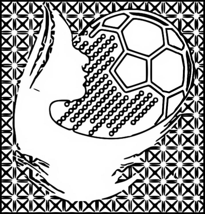 Disegno Da Colorare Campionato Mondiale Di Calcio Femminile 2019