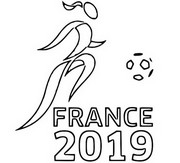 Coloring page France 2019