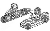 Coloring page Sports Cars