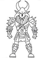 Disegno da colorare Ragnarok