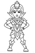 Coloring page Valor