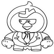 Kolorowanka Agent P Mr. P