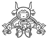 Coloring page Bulletto