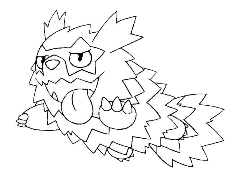 Disegno Da Colorare Pokemon Spada E Scudo Forme Di Galar