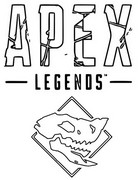 Coloring page Apex Legends
