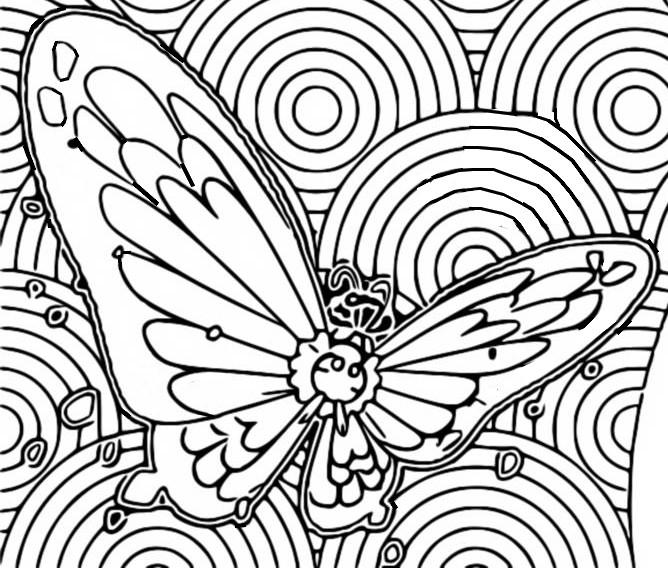 Coloring Page Gigantamax Pokemon Gigantamax Butterfree 4