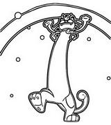 Målarbok Gigantamax Meowth