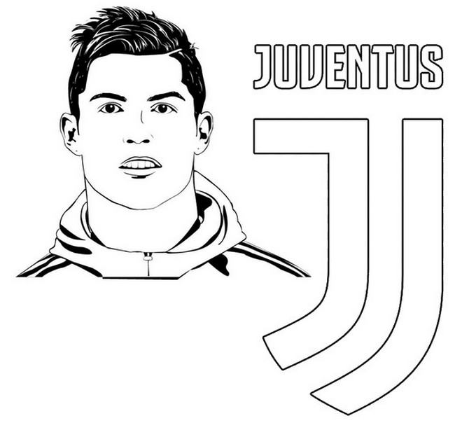 Disegno Da Colorare Uefa Champions League 2020 Cristiano Ronaldo