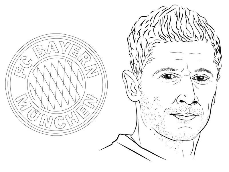 malvorlagen uefa champions league 2020 : bayern - robert