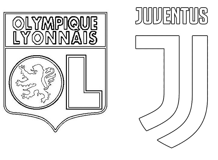coloring page uefa chions league 2020 of 16