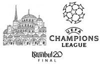 Målarbok Finalen: Istanbul 2020