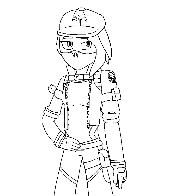 Rippley Fortnite Chapter 2 Coloring Pages - Fortnite ...