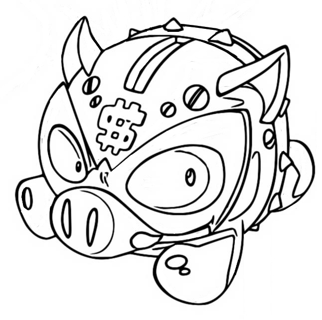 Coloring page Coink - Superzings