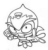Dibujo para colorear Sparky
