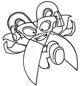 Coloring page Mad Blades