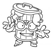 Coloring page Max Stink