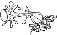 Coloring page Fizzer