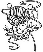 Coloring page Tangle Boy