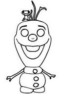 Coloring page Olaf