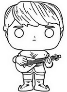Coloring page Kristoff