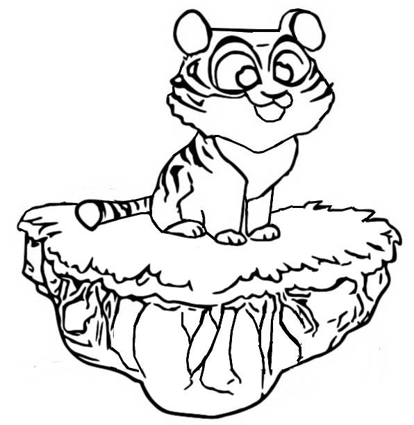 Malvorlagen Coin Master Tiger 2