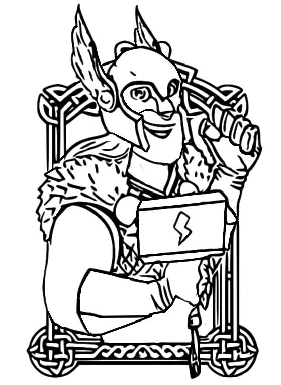malvorlagen coin master  wikinger 5