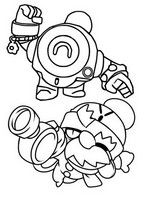 Coloring page New brawlers