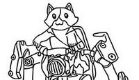 Dibujo para colorear Kit