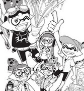 Coloring page Splatoon