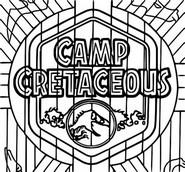 Kleurplaat Camp Cretaceous