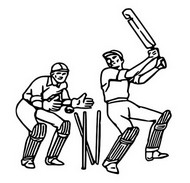 Coloring Pages Cricket Morning Kids