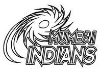 Tulostakaa värityskuvia Mumbai Indians