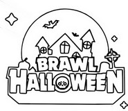 Coloring page Brawl Halloween