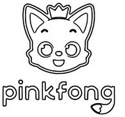 Coloring page Pinkfong
