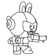 Coloring page Cony Max