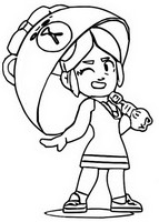 Coloring page Choco Piper