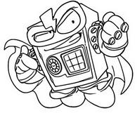 Dibujo para colorear Hardlock 413 Super rare