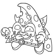 Coloring page Rocky Forte 416 Trickster Troop